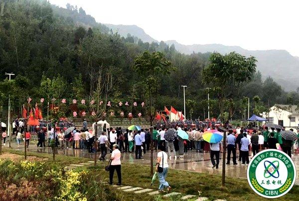中国烹饪始祖伊尹美食文化节暨岔峪河灯祈福节活动在百良镇盛大举