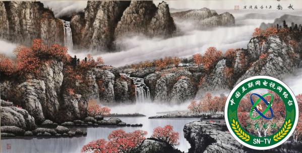 借西润中,写意自然——周蕴波山水画赏析