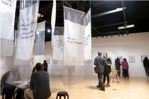 苏志恒Les Lignes Troubles画展,植根现代绘画世界线条主题